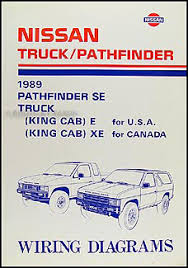 nissan d21 service manuals shop owner maintenance and repair 1989 nissan truck and pathfinder wiring diagram manual original