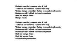 The popular song andmesh kamaleng. Lirik Lagu Andmesh Hanya Rindu