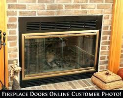 fireplace doors glass fireplace door glass awesome wood burning stove door glass replacement seal fireplace doors