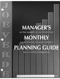 monthly planning guide managers monthly planning guide
