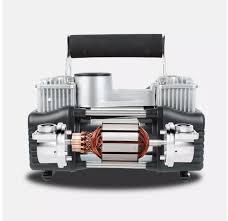Máy nén khí mini - máy bơm hơi mini xách tay Bơm hơi Ôtô, xe máy, xe đạp mã  lực lớn 2 xi lanh