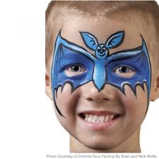 simple wolf face paint for kids photo 27