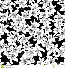 black and white floral wallpaper pattern. Wonderful And Floral Seamless Blackwhite Pattern And Black White Floral Wallpaper Pattern E