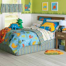 dinosaur circo toddler bedding