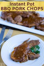 My favourite use of the instant pot is the go and grab your frozen pork chops from the freezer and let me show you my secret methods for transforming it in the instant pot. Instant Pot Pork Chops With Bbq Sauce Keto Low Carb Yum