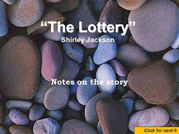 the lottery by shirley jackson authorstream  the lottery by shirley jackson authorstream