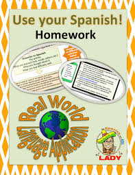 Use Your Spanish! Homework - Real World Language Application ...