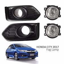 Honda City 2017 Fog Lamp Fog Lamp Cover Black Cover Come With Wiri