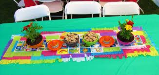 Fiesta Table Decorations Ramons Retirement Fiesta
