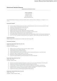 Sample Resume Cover Letter For Preschool Teacher Assistant Templates