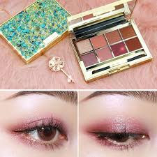 eye shadow makeup palettes waterproof earth warm shimmer matte powder with brush suitable for party wedding makeup eyeshadow ideas glitter makeup from
