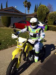 halloween supermoto riding