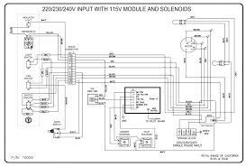 wiring diagrams royal range of california Royal Wiring Diagrams rco 220 230 240v with 115v moc and solenoid Schematic Circuit Diagram