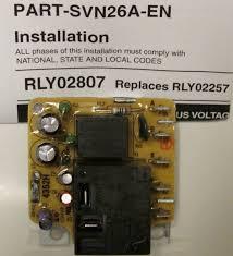 rly02807 american standard trane air handler fan time delay relay trane air handler fan time delay relay