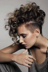 Hairstyle Short Curly Hair And Photo Female Medium Length Women