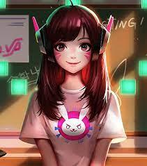 Cute Anime Gamer Girl Wallpapers - Top ...