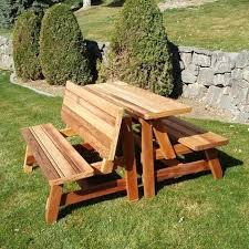 wonderful modern picnic table image of modern picnic table bench ideas diy modern picnic table