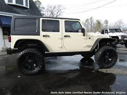 2011 jeep wrangler unlimited rubicon lifted 4x4 off road hard top photo 4 richmond