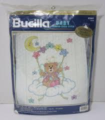 Bucilla Baby Stamped cross stitch 42441