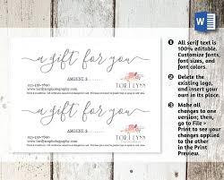 gift card template free vector visa psd free printable gift