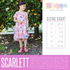 Styles And Size Charts For Kids Lularoe By Angela Peacor
