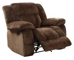 chair and a half recliner. homelegance 9636-1 laurelton textured plush microfiber glider recliner chair, chocolate brown chair and a half
