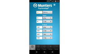 Munters Psychrometric Chart Android Versions Of Cooling System Calculators Developed