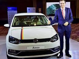 vw new car releasemayer director volkswagen car launches new car ameo