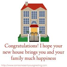 Housewarming Quotes Gorgeous Housewarming Wishes And Quotes For A Congratulations Card Someone