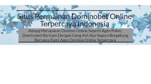 Image result for Situs Permainan Poker Domino Bet