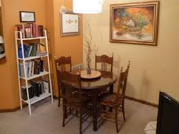 image of small dining tables for small spaces