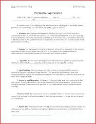 Sample Prenup Premarital Agreement Template Prenuptial Agreement Template