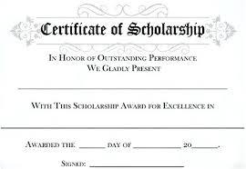 Guarantee Certificate Template Scholarship Certificate