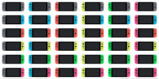 I Made An Updated Chart With All 36 Joy Con Colour