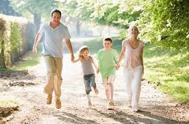 family outdoor activities. Happy Family Pastel Outdoor Activities