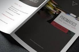 2 Folded Brochure Template Corporate Tri Fold Brochure Template 2 Brochure Templates