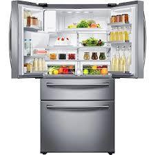 samsung refrigerator drawer. Fine Samsung Ft CounterHeight 4Door Refrigerator With FlexZone Drawer Stainless S   7432071  HSN For Samsung U