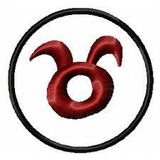 Výšivka Znamení Zvěrokruhu Býk Taurus Vyšívání Náš Koníček