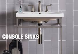 bathroom sink. Console Basin \u0026 Leg Combos Bathroom Sink