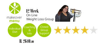 weight group product review makeover menu weight loss group