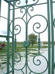 wrought iron trellis australia really big metal country french garden arbor gate 1