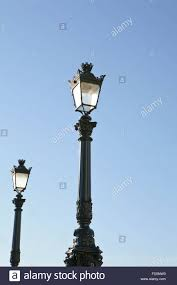 Old Fashioned Street Lights Old Fashioned Street Lights In Stock Photos Old Fashioned