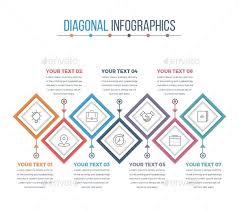 Modern Diagonal Square Infographics Diagonal Modern