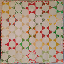 Easy Hexagon Star Quilt | Star quilts, Tutorials and Easy &