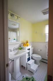 kids bathroom lighting. Stunning Traditional Kids Bathroom With Floor Tile Paired White  Furniture, Pedestal Sink Small Bathroom. Bathroom Lighting H