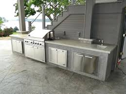 concrete grill outdoor kitchens concrete block grill plans
