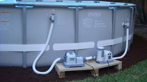 salt water pool systems. Intex Pool With Salt Water System Systems