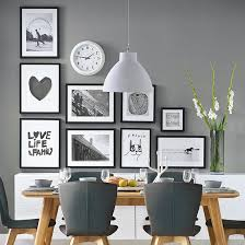 dining room frames. Perfect Frames This Arrangement Creates The Perfect Backdrop To U0027frameu0027 A Dining Area In  An Openplan Space And Great Dinnerparty Talking Point Too With Dining Room Frames
