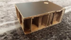 just cut into my ikea desk found out it was made of literal cardboard