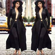 <b>2017 Women Runway</b> Winter 2 Pieces Set Dust Coat <b>Suit</b> Tunic ...